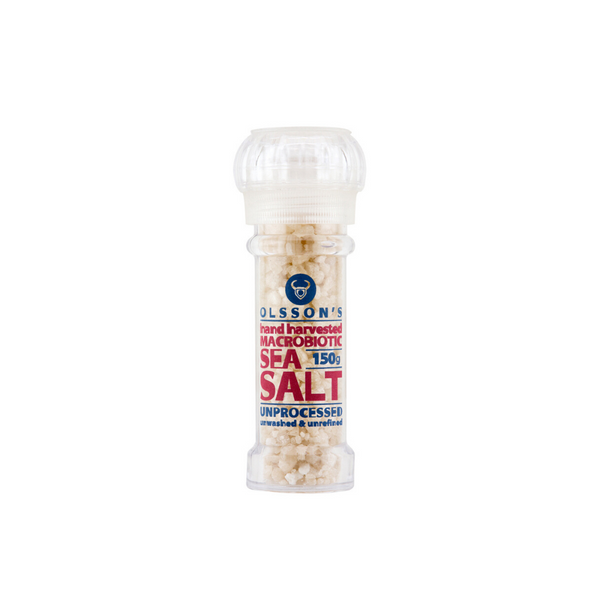 Macrobiotic Sea Salt Grinder - 150g