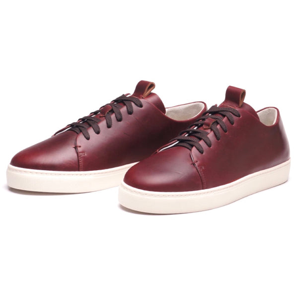 Modello 2 Burgundy Calf Sneakers