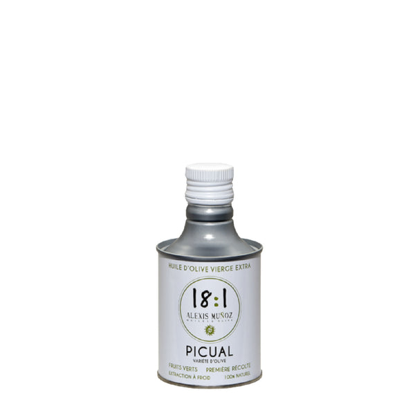 18:1 OLIVE OIL EVOO FRUITY GREEN PICUAL - 250ML