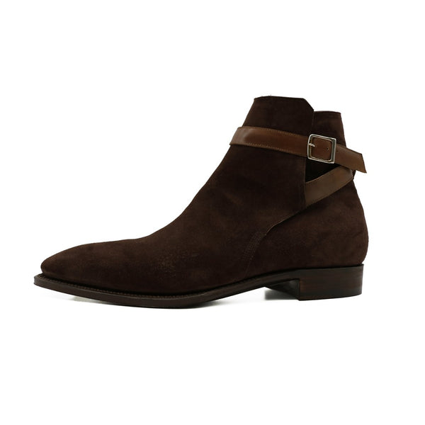 Dark Brown Pegase Suede Boots