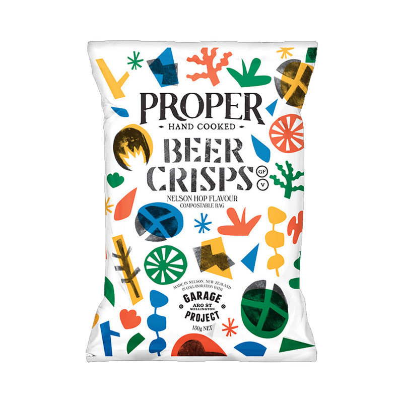 Compostable Beer Crisps - 150g