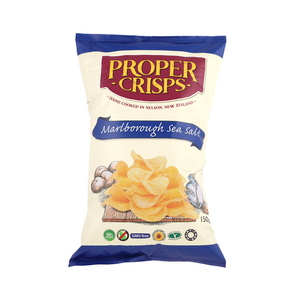 Marlborough Sea Salt Potato Chips - 150g