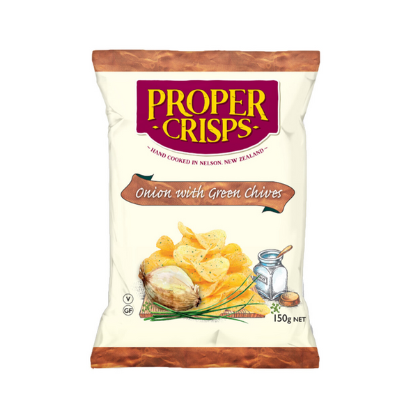 Onion & Chive Potato Chips - 150g