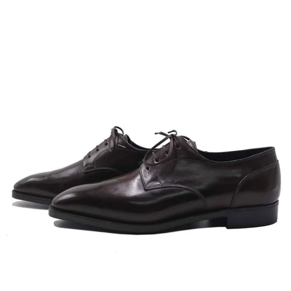 Dark Brown Classic Derby Shoe