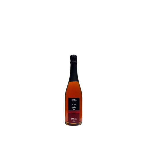 ORGANIC SPARKLING GRAPE JUICE MERLOT 250ML x6 Bottles
