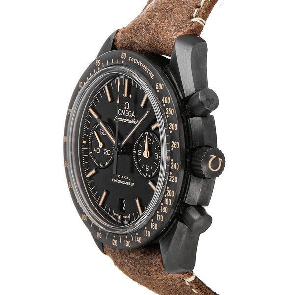 "Speedmaster Moonwatch Dark Side of the Moon ""Vintage Black"" (31192445101006)"