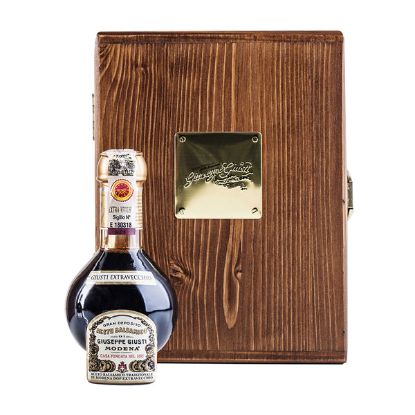 "TRADITIONAL BALSAMIC ""EXTRAVECCHIO"" WOOD BOX 100ML"