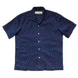 """KENJI"" Japanese Seersucker Short Sleeved Shirt (Made To Order)"