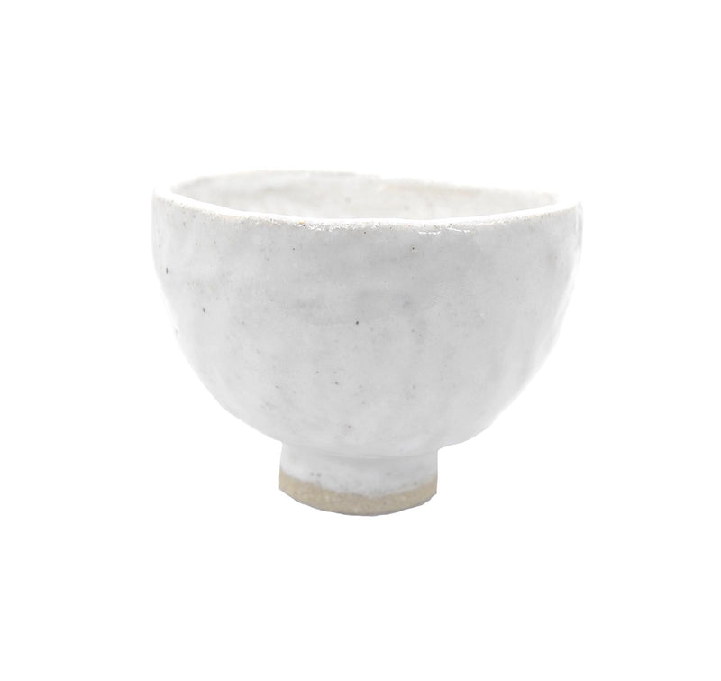 Milk Ceramic Wobbly Bowl