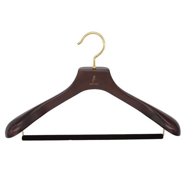 Nakata for Kevin Seah Mars Brown Beech Wood Suit Hanger