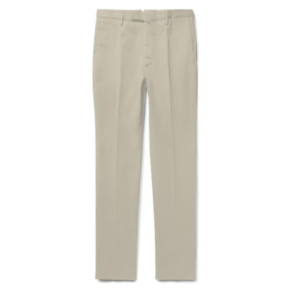 Khaki Cotton Chinos (Made to Order)