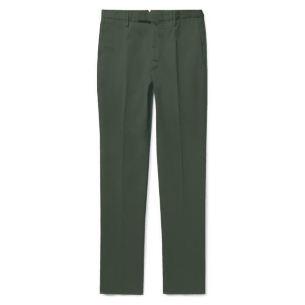 Green Cotton Chinos (Made to Order)