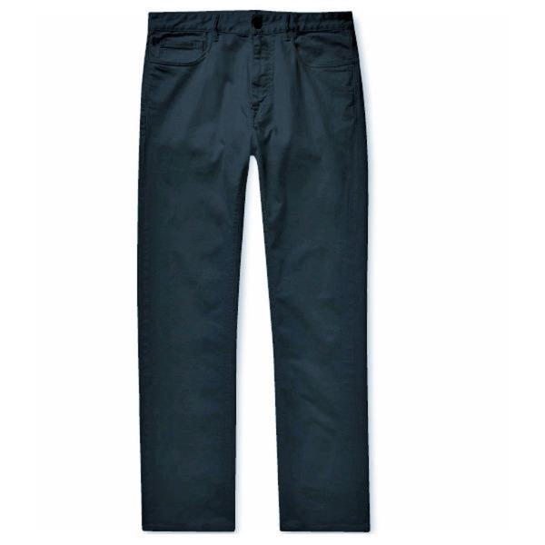 Navy Cotton Jeans (Made to Order)