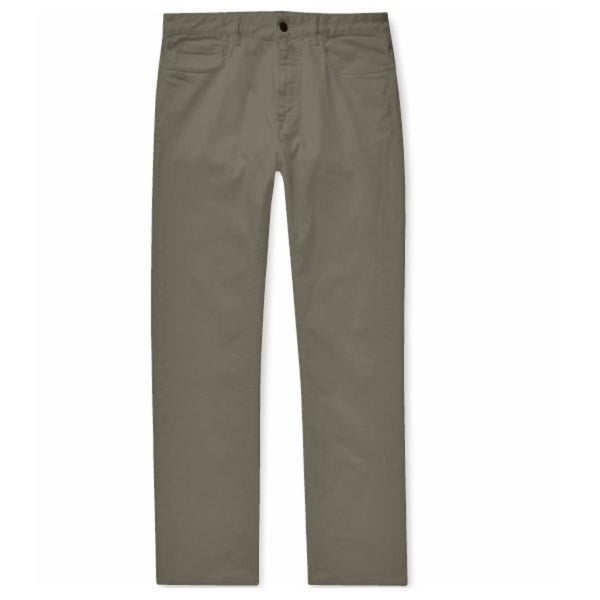 Khaki Green Cotton Jeans (Made to Order)