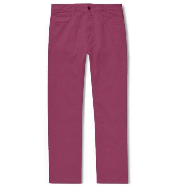 Dark Pink Cotton Jeans (Made to Order)