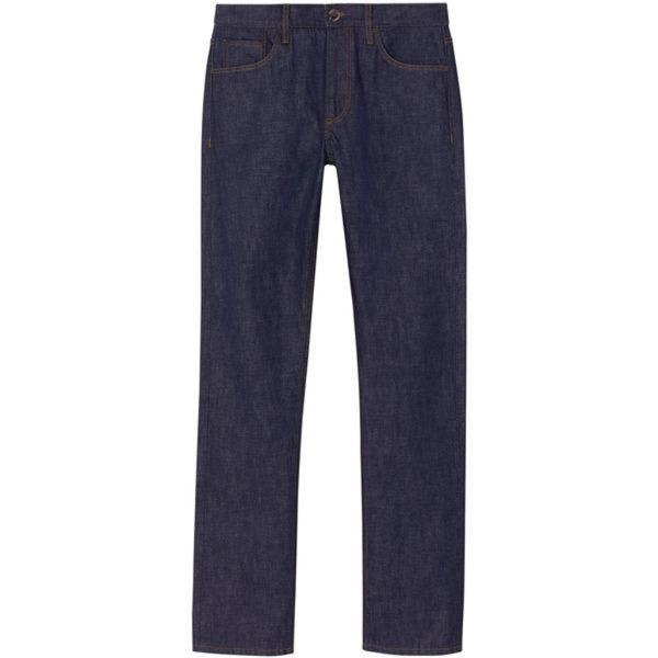 Indigo Denim Straight Selvedge Jeans (Made to Order)