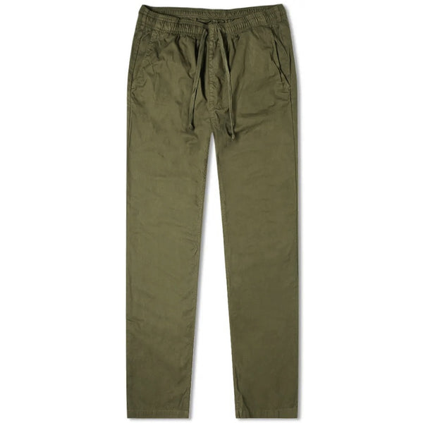 Green Cotton Drawstring Trousers (Made to Order)