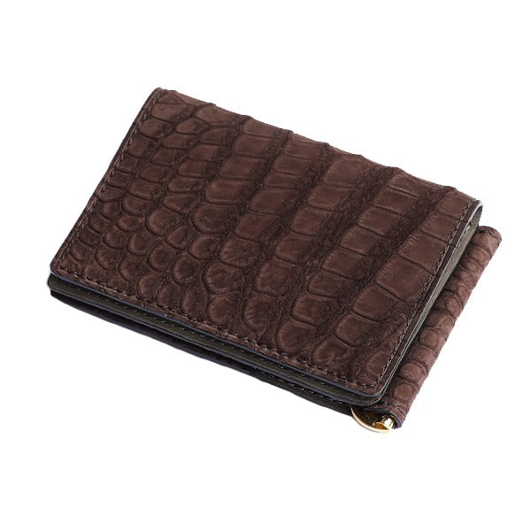 Brown Crocodile Wallet