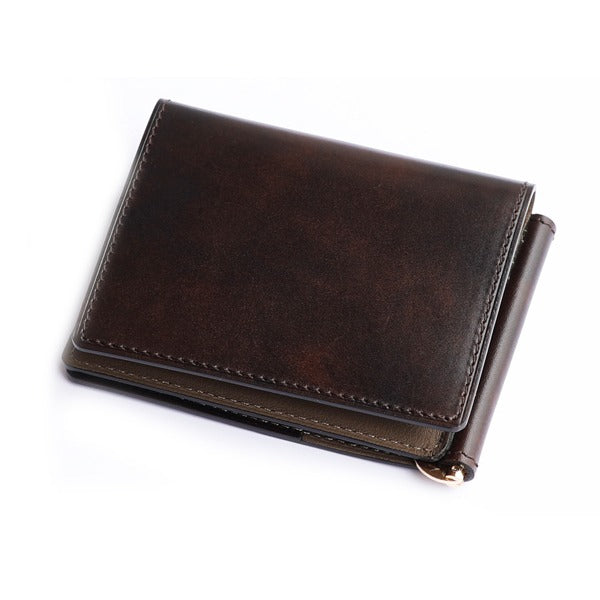 Brown Museum Calf Wallet