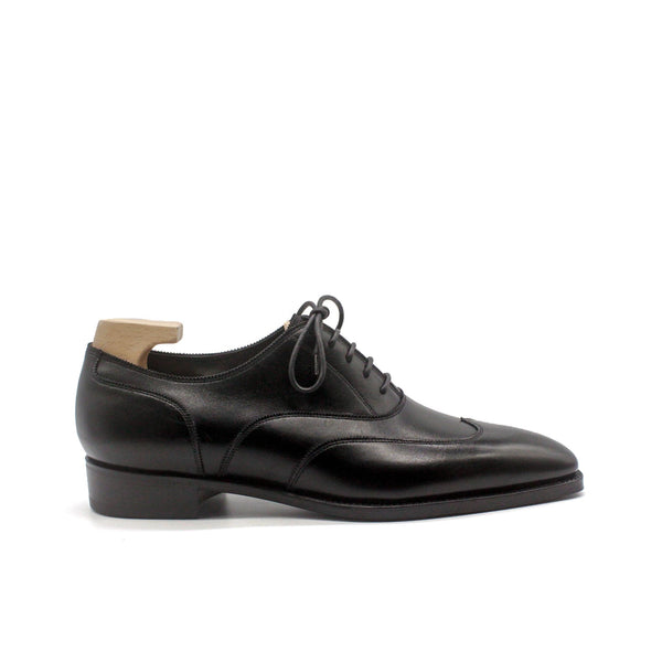 Connaught Black Calf Oxfords