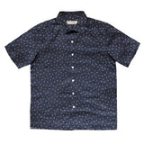 """KENJI II"" Japanese Polka Dot Seersucker Short Sleeved Shirt (Made To Order)"