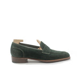 GAZIANO & GIRLING - TINTAGEL - GREEN SUEDE
