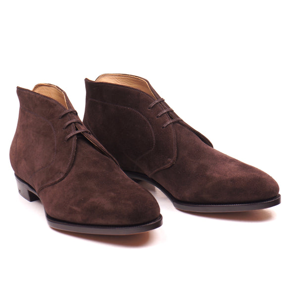 Bitter Chocolate Suede Chukka Boots