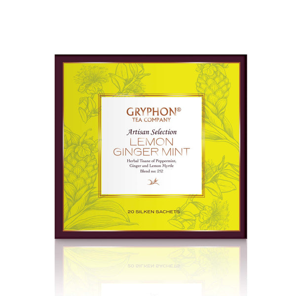 Tea Sachet Lemon Ginger Mint 20's
