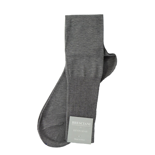 Bresciani for KEVIN SEAH - Over the Calf (Light Grey)