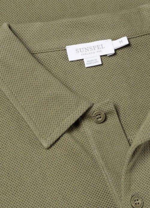 Short Sleeve Riviera Polo (Rosemary)