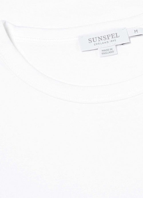 Short Sleeve Classic Crew Neck T-Shirt (White)