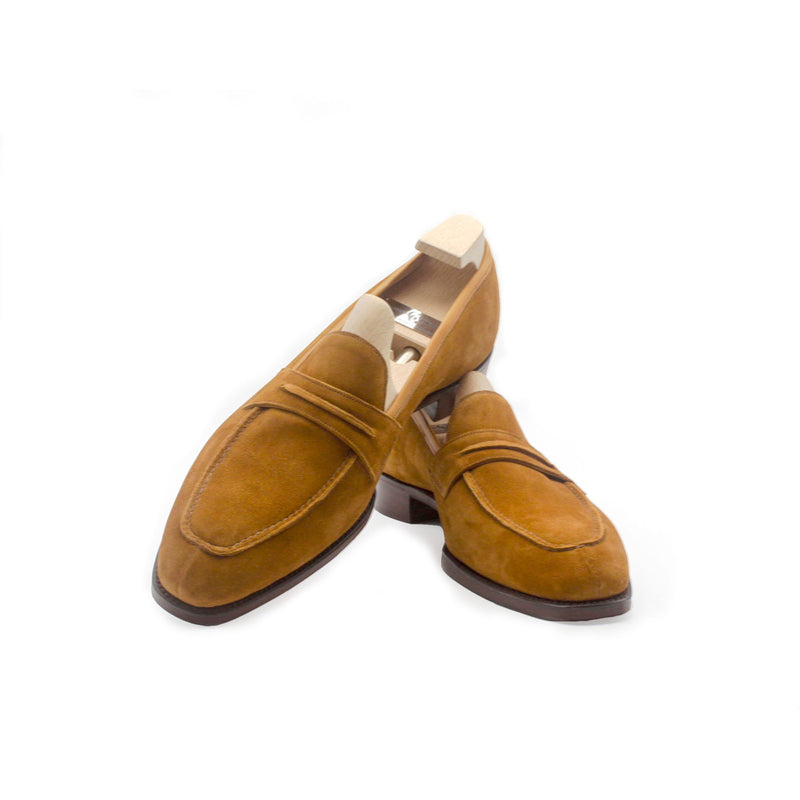 St Tropez Fox Suede Loafers