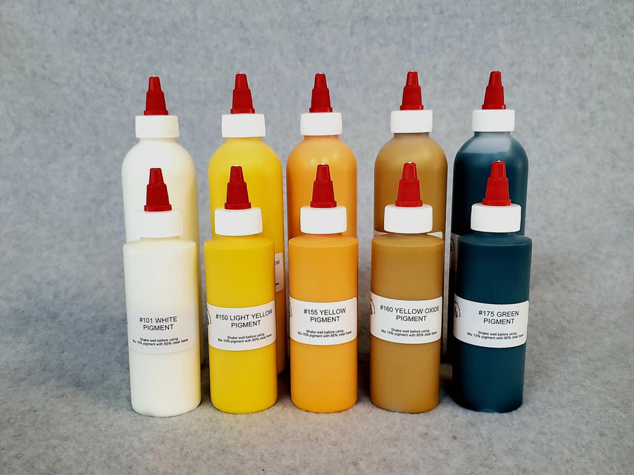 White - Yellow - Green Tinting Pigments