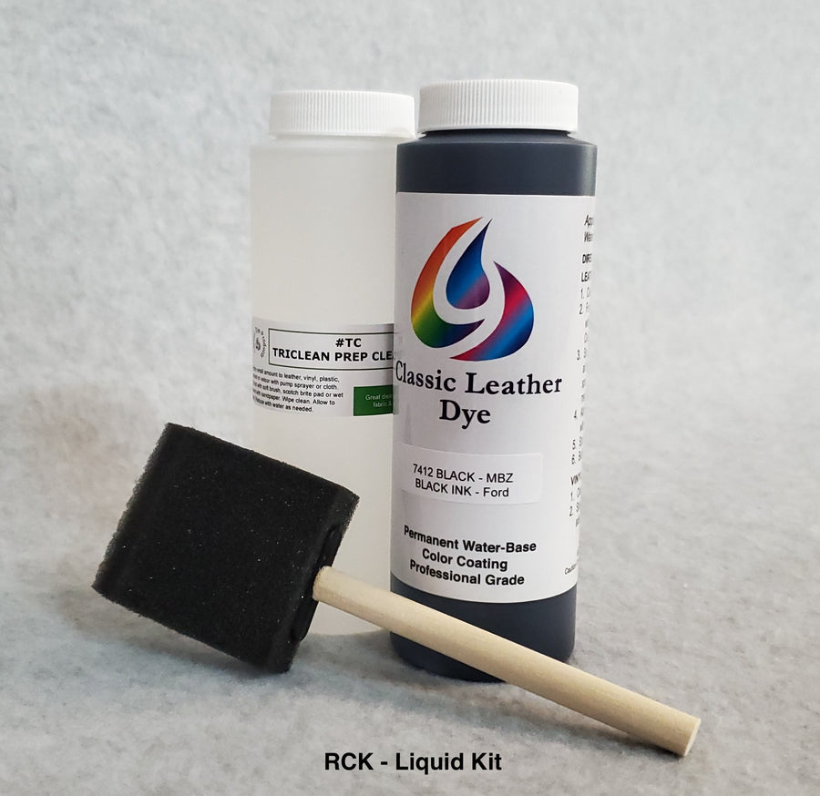 Mercury Leather-Vinyl Color Kit