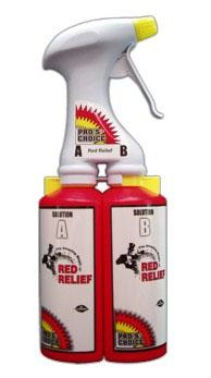 Red Relief Dual Chamber Trigger Sprayer