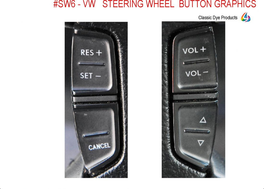 #SW Lam 6 - VW steering wheel graphics