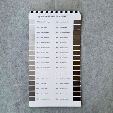 WB Series Color Chart