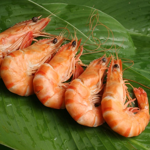 Cooked Crevettes (£39.25 kg)
