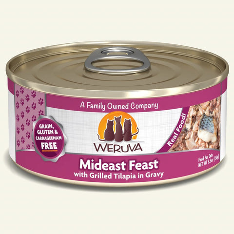 Weruva Mideast Feast Canned Cat Food 5.5oz