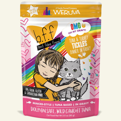 Weruva BFF Cat PouchTuna & Turkey Tickles 3 oz
