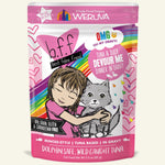 Weruva BFF Cat Pouch Tuna & Duck Devour Me 3oz 12/cs