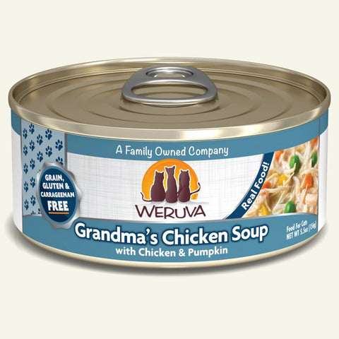 Weruva Grandma's Chicken Soup Canned Cat Food 5.5 oz
