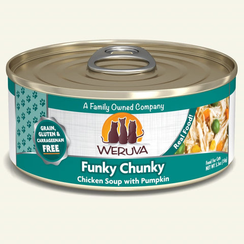 Weruva Funky Chunky Canned Cat Food 5.5 oz