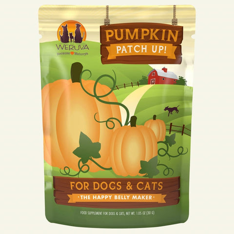 Weruva Pumpkin Patch Up! Dog & Cat Treat Supplements