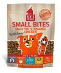 Plato Small Bites Organic Chicken Dog Treats 10.5oz