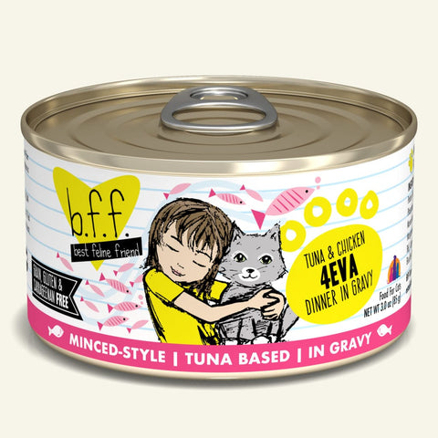 Weruva BFF Cat Can Tuna & Chicken 4Eva 5.5 oz