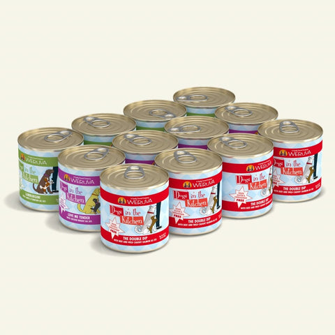 Weruva DITK Doggie Dinner Dance (Variety Pack) Canned Dog Food 10 oz, Case of 12