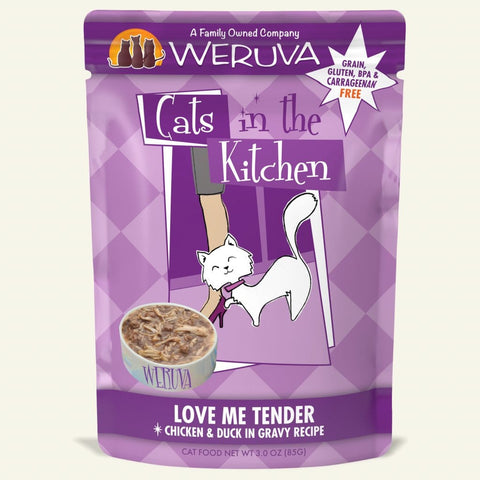Weruva CITK Love Me Tender Cat Food Pouch 3oz