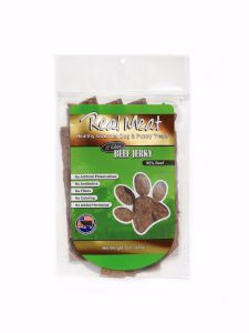 Real Meat All Natural Beefy Jerky 8 Oz