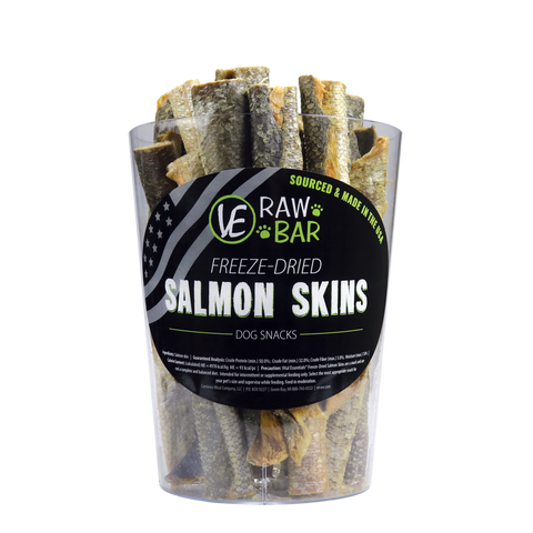 VE RAW BAR Freeze-Dried Salmon Skins